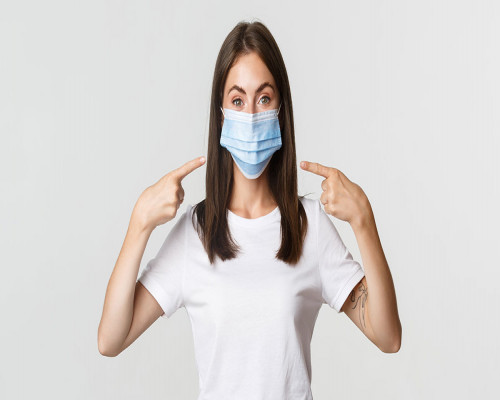 Get Comfortable and Skin-friendly 3ply Face Mask With Latest Filtration Technology