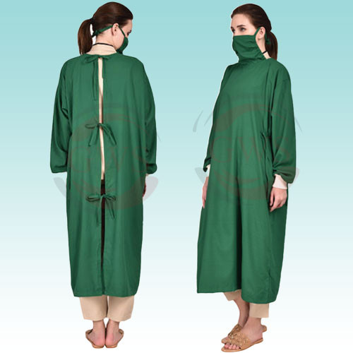 Surgical Gown With Mask