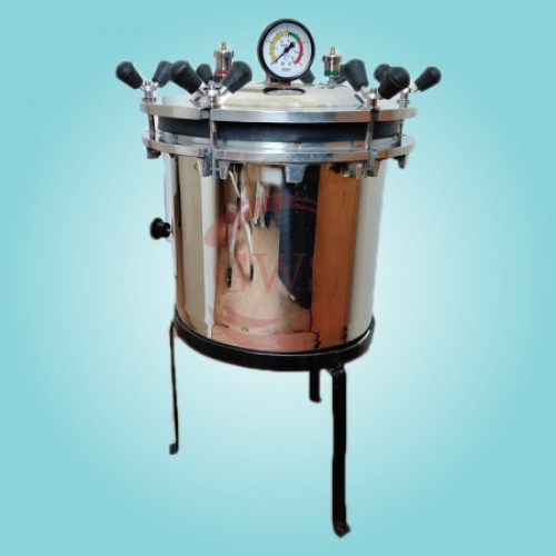 Portable Autoclave Wing Nut Type