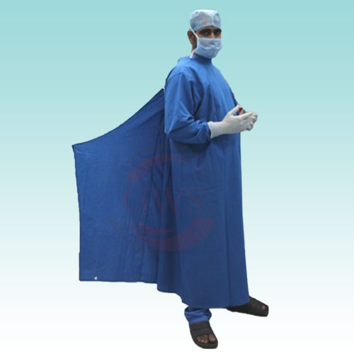 Surgical/OT Gown With Overlapping | GWS SURGICALS LLP