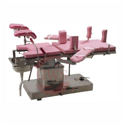 Gynaec/ Obstetric Operation Table, Hydraulic