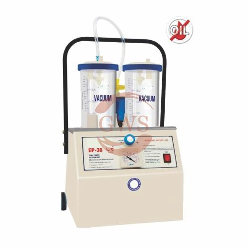 Dual Power Suction Unit (Electric Cum Manual)