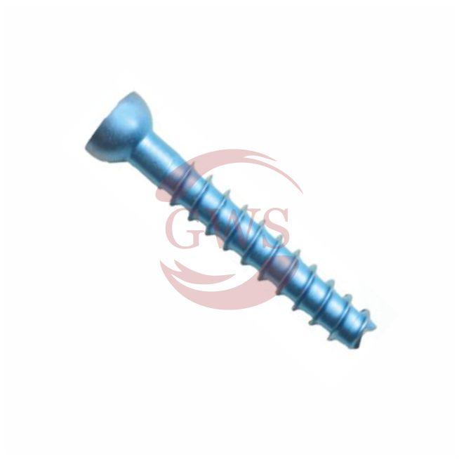 Low Profile Cancellous Screw, Titanium