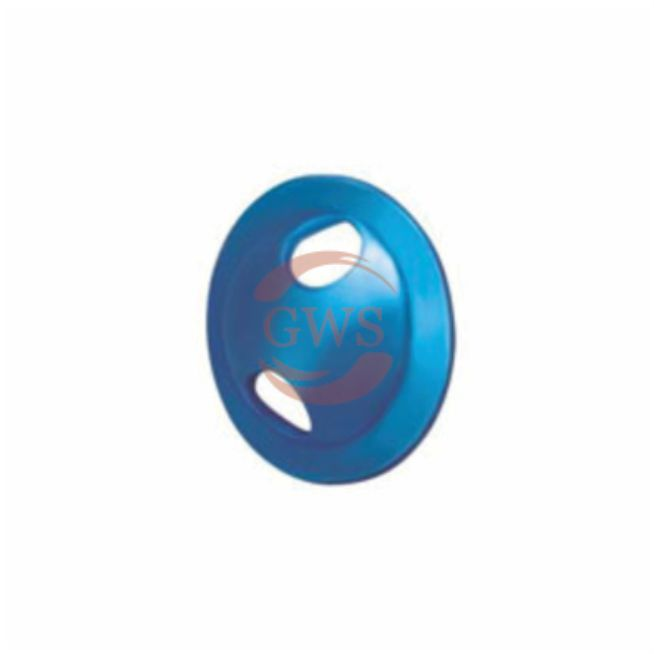 Suture Washer Round Hole, Titanium