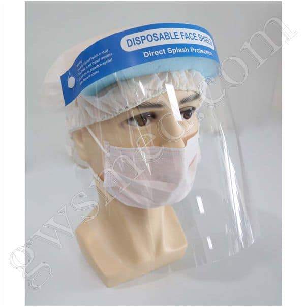 Protective Face Shield, Disposable