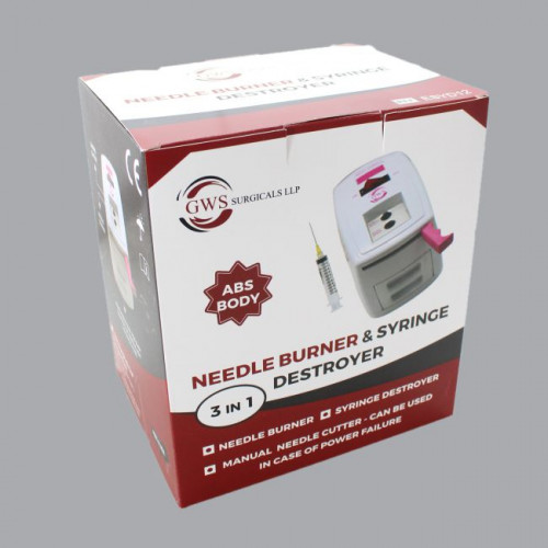 Electric Syringe Needle Destroyer-ABS Body